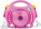 Karaoke CD Player MP3 2 Mikros girl-pi