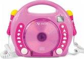 Karaoke CD Player MP3 2 Mikros girl-pi
