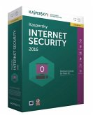 Kaspersky Internet Security 2016 Upgrade, 1 CD-ROM