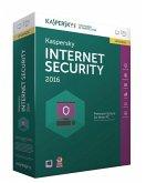 Kaspersky Internet Security 2016 5 Lizenzen Upgrade, 1 CD-ROM