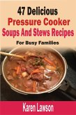 47 Delicious Pressure Cooker Soups And Stews Recipes: For Busy Families (eBook, ePUB)
