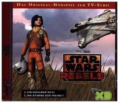 Star Wars Rebels, 2 Audio-CDs