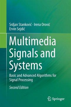 Multimedia Signals and Systems - Stankovic, Srdjan; Orovic, Irena; Sejdic, Ervin
