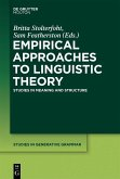 Empirical Approaches to Linguistic Theory (eBook, PDF)