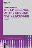 The Emergence of the English Native Speaker (eBook, PDF)