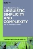 Linguistic Simplicity and Complexity 1 (eBook, PDF)