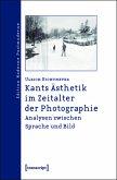 Kants Ästhetik im Zeitalter der Photographie (eBook, PDF)