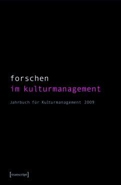 Forschen im Kulturmanagement (eBook, PDF)