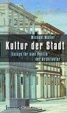Kultur der Stadt (eBook, PDF)