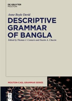 Descriptive Grammar of Bangla (eBook, ePUB) - David, Anne Boyle