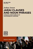 Jarai Clauses and Noun Phrases (eBook, PDF)