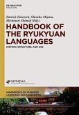 Handbook of the Ryukyuan Languages (eBook, ePUB)