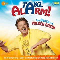 KiKA Tanzalarm! Das Beste von Volker Rosin, 1 Audio-CD - Rosin, Volker