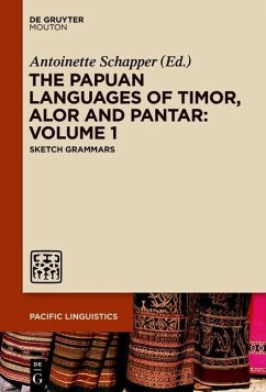The Papuan Languages of Timor, Alor and Pantar. Volume 1 (eBook, ePUB)