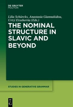 The Nominal Structure in Slavic and Beyond (eBook, PDF)
