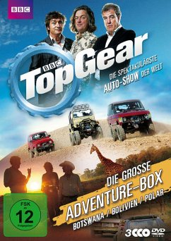 Top Gear - Die große Adventure-Box - Clarkson,Jeremy/May,James/Hammond,Richard