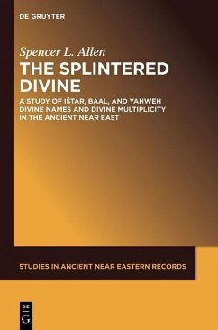 The Splintered Divine (eBook, ePUB) - Allen, Spencer L.