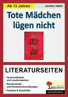 Tote Mädchen lügen nicht - Literaturseiten - Vatter, Jochen