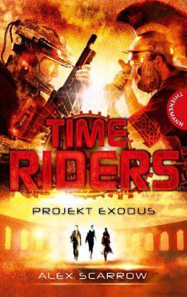 Buch-Reihe TimeRiders von Alex Scarrow