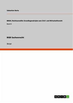 BGB Sachenrecht (eBook, ePUB)