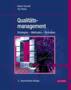 Qualitätsmanagement (eBook, PDF) - Schmitt, Robert; Pfeifer, Tilo