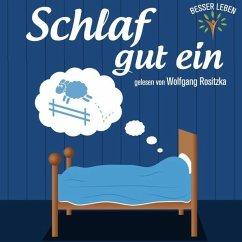 Schlaf gut ein, 1 Audio-CD - Rositzka, Wolfgang