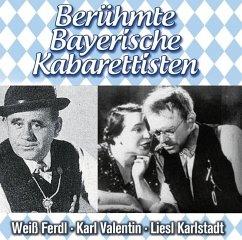 Berühmte Bayerische Kabarettisten, 2 Audio-CDs