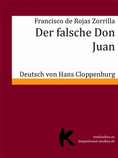 DER FALSCHE DON JUAN (eBook, ePUB) - de Rojas Zorrilla, Francisco
