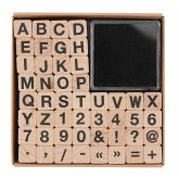 Stempelset ABC und Zahlen