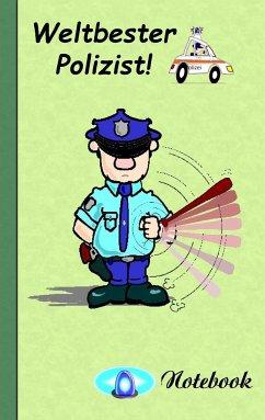 Weltbester Polizist - Notizbuch