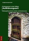 Freimaurerei in der frühen Aufklärungszeit (eBook, PDF)
