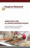 Umsetzung der Allergen-Kennzeichnung (eBook, ePUB)