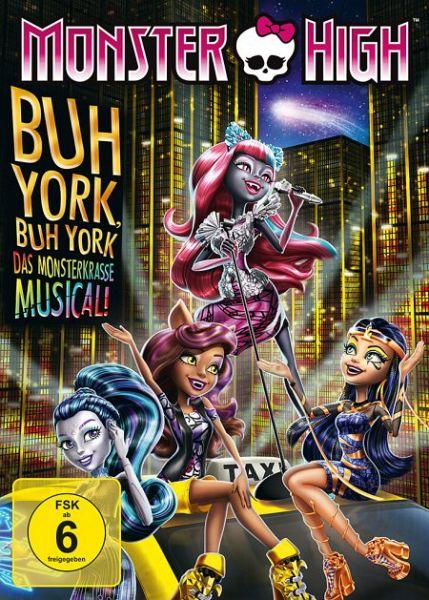 monster high buh york buh york das monsterkrasse musical auf dvd portofrei bei b. Black Bedroom Furniture Sets. Home Design Ideas