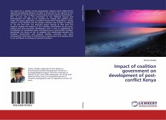 Impact of coalition government on development of post-conflict Kenya