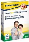 SteuerSparErklärung MAC 2016 (für Steuerjahr 2015)
