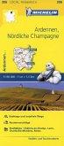 Michelin Karte Ardennen, Nördliche Champagne