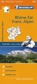 Michelin Karte Rhone-Tal-Franz. Alpen