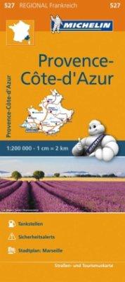 Michelin Karte Provence, Côte d' Azur; Provence-Alpes, Côtes d' Azur