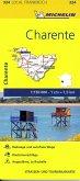 Michelin Karte Charente