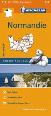 Michelin Karte Normandie