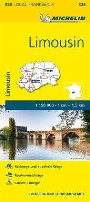 Michelin Karte Limousin