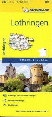 Michelin Karte Lothringen