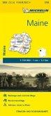 Michelin Karte Maine
