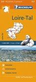 Michelin Karte Loire-Tal. Pays de la Loire