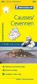 Michelin Karte Causses, Cevennen