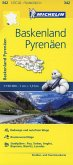 Michelin Karte Baskenland, Pyrenäen