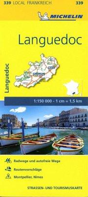 Michelin Karte Languedoc
