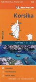 Michelin Karte Korsika; Corse