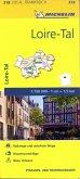 Michelin Karte Loire-Tal; Loiret, Loir-et-Cher