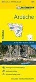 Michelin Karte Ardèche